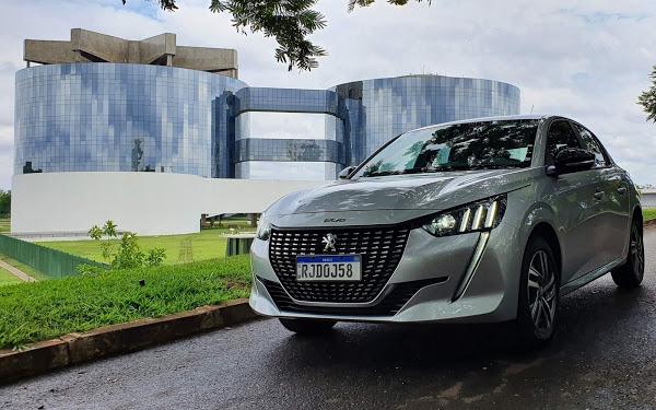 Peugeot 208 Griffe 1.6 TipTronic 2021: impressões ao dirigir
