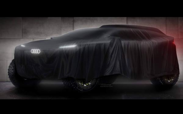 Audi vai competir no Rally Dakar com protótipo elétrico