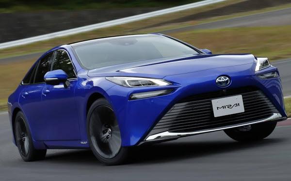 Toyota Mirai 2021 movido à hidrogênio é lançado - fotos