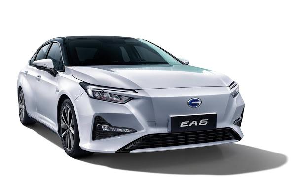 Honda EA6: sedã elétrico revelado no Salão do Automóvel de Haikou - China