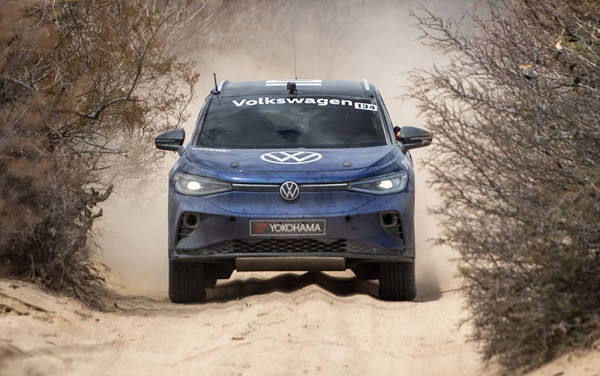 SUV elétrico, Volkswagen ID.4, completa rally de 1344 km no México