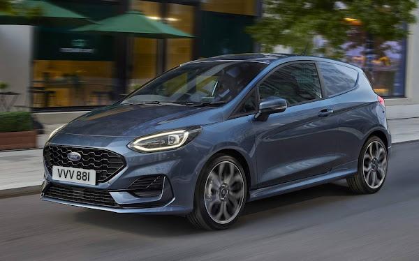 Ford Fiesta 2022 Van recebe reestilização na Europa - fotos e detalhes