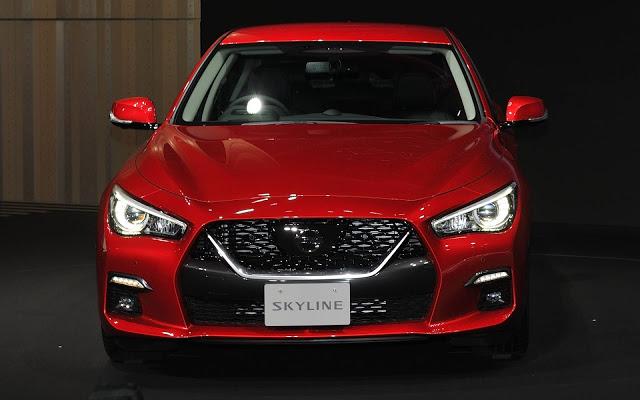 Nissan Skyline 2020 recebe facelift e ProPilot 2.0 - Japão