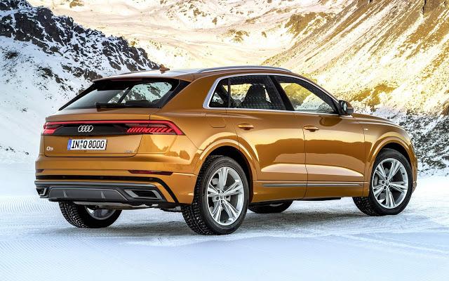 Audi Q8 ganha novos motores V6 3.0 TFSI e TDI - fotos